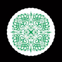 コースター1mm菊丸緑