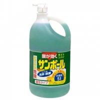 【最小購入数6ケース】サンポールK 5L 【2本入り】