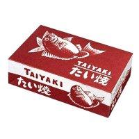 たい焼き箱 赤鯛-10 100枚入り×6【600枚】