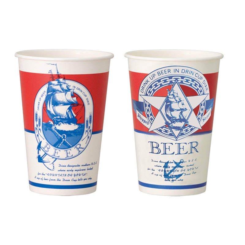 デキシー ビールカップ 494ml(16オンス) GCSP16BEが安い! 業務用品の大量購入なら激安通販びひん.shop。【法人なら掛け払い可能】【最短翌日お届け】【大口発注値引き致します】