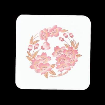 遊膳 CO-19 花雅コースター 角 桜 100枚入が安い! 業務用品の大量購入なら激安通販びひん.shop。【法人なら掛け払い可能】【最短翌日お届け】【大口発注値引き致します】