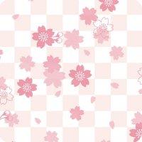 【最小購入数10枚】 遊膳 JS-I02 樹脂コースター 市松・桜 【1枚入り】