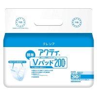84464 アクティ 紙パンツ用尿とりパッド簡単Vパッド200 30枚 【6パック入り】