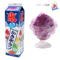 【最小購入数8本】 かき氷蜜 1.8L グレープ 【1本入り】