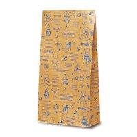 No.2413 Y-4 洋品袋 ベアコレクション(ブルー) 【1,000枚入り】