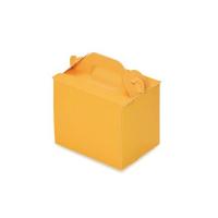 手提ケーキ函 105折OPL-オレンジ(折り式組立) 3×4 【400枚入り】