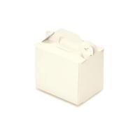 手提ケーキ函 105折OPL-バニラ(折り式組立) 3×4 【400枚入り】