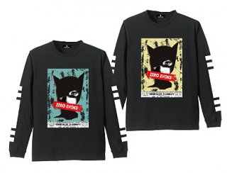 ZE Cat Women L/S Tee YELLOW / BLUE