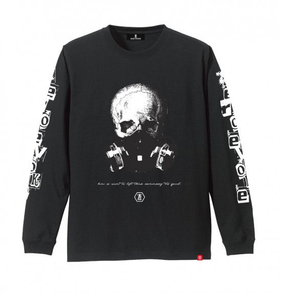 Skull Mask L/S Tee【通常価格¥5390】<img class='new_mark_img2' src='//img.shop-pro.jp/img/new/icons20.gif' style='border:none;display:inline;margin:0px;padding:0px;width:auto;' />