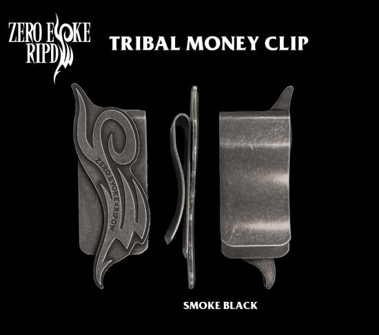 RIPDW × ZERO EVOKE Tribal Money Clip<img class='new_mark_img2' src='//img.shop-pro.jp/img/new/icons5.gif' style='border:none;display:inline;margin:0px;padding:0px;width:auto;' />