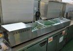 大穂 冷蔵ネタケース OHRSa-2100L (2100×350×265) 未使用☆91314