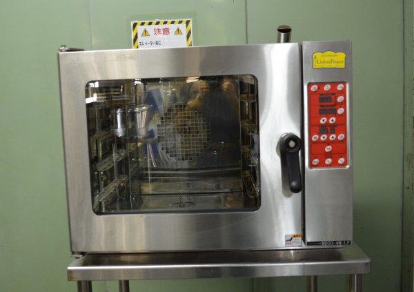 マルゼン ベーカリーコンベクションオーブン 4段 MBCO-4M-LP 単相200V 17年製 中古★91829