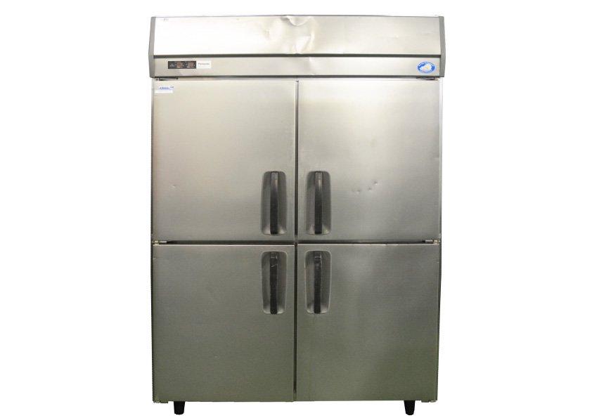 パナソニック 冷凍冷蔵庫 SRR-K1261CS 1200×650×1930 4ドア 業務用 中古★92314
