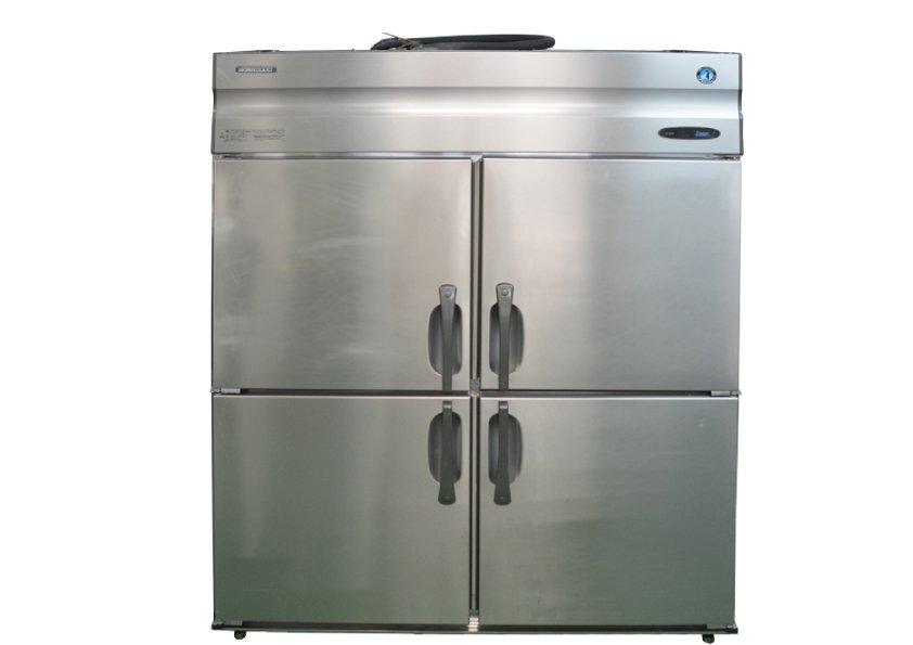ホシザキ 業務用 冷凍庫 HF-150XT3-ML W1500×D650×H1890 三相200V 4ドア 業務用  中古★92144