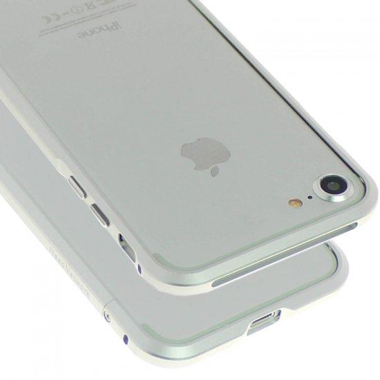 iphone7アルミバンパーケース シルバー上部と下部