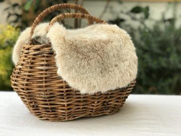 kago bag(ファー付き)