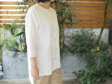 【Devant】シンプルシャツ・white