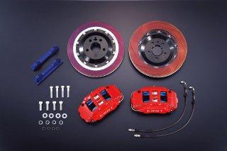 ERST(エアスト)ボルボ専用V50(MB) ブレーキシステム・BRAKE SYSTEM/FRONT 6POT 324Stype RED  使い捨てマスク2枚プレゼントキャンペーン