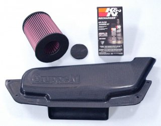GruppeM RAM AIR SYSTEM CARBON DUCT INTAKE KIT  V40 T4