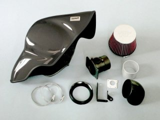 GruppeM RAM AIR SYSTEM CARBON DUCT INTAKE KIT S60/V60 T5