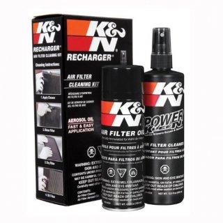 K&N エアフィルターメンテナンスキット(ウォッシャー&オイル)  使い捨てマスク2枚プレゼントキャンペーン