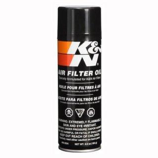 K&N フィルターオイル(エアゾール式 184g)  使い捨てマスク2枚プレゼントキャンペーン