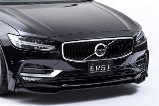 ERST(エアスト)ボルボ専用S90/V90(PB) 2017年~エアロパーツフロントリップスポイラー+サイドリップ セット