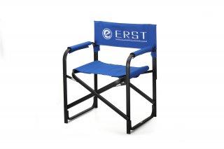 ERST(エアスト) OFFICIAL ディレクターチェア ブルー  使い捨てマスク2枚プレゼントキャンペーン