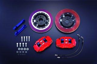 ボルボ専用ERST(エアスト) V90/S90(PB/PD) ブレーキシステム・BRAKE SYSTEM/FRONT 6POT 370 RED  使い捨てマスク2枚プレゼントキャンペーン