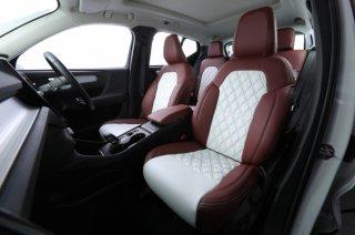 現品限り特別特価 ERST(エアスト) ボルボ XC40(XB)専用 カスタムシートカバー 写真撮影のためデモカーに使用品