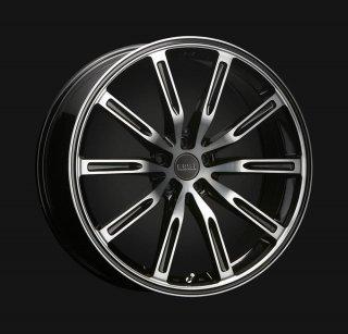 ERST newWHEEL S10-R 20×8.5J (48) ブラックライトスモーク/ポリッシュV40/V60/S60用 コンチネンタルタイヤ4本セット!