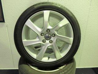 V60(FB/FD)用 17インチ純正アルミホイール・スタッドレスタイヤセット(中古品)