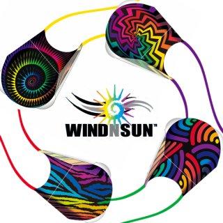 WINDNSUN ポケットカイト ストライプ