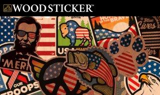 WOODSTICKER ウッドステッカー AMERICANA キャンステ MADE IN USA