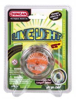 LEDで光るヨーヨー ダンカン ライムライト 【全3色】/ DUNCAN Limelight /スキルトイ