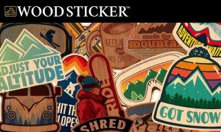 WOODSTICKER ウッドステッカー WINTER キャンステ MADE IN USA