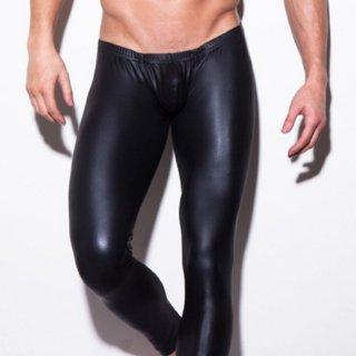 huge FAKE LEATHER TIGHT LEGGINGS(フェイク レザー タイト レギンス)ブラック