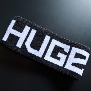 huge HUGE LOGO RUBBER WRISTBAND(ヒュージ ロゴ ゴム リスト バンド)ブラック