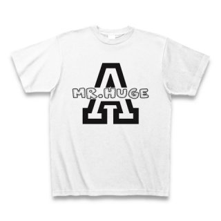 MR.HUGE LOGO IN INITIAL(ロゴ イン イニシャル)PRINTED Tシャツ ホワイト A
