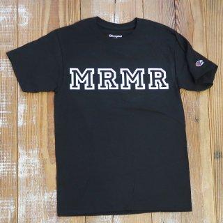 MR.HUGE champion W NAME MRMR HOWRING(チャンピオン ダブルネーム MRMRハウリング)PRINTED Tシャツ ブラック