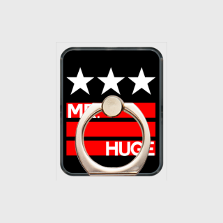 MR.HUGE STAR & LINE IN LOGO PRINTED SMARTPHONE RING スマホリング