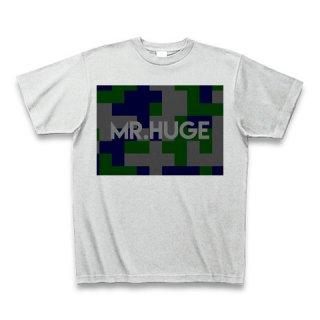 MR.HUGE DEGITAL CAMOFLAGE(デジタル 迷彩) PRINTED Tシャツ アッシュグレー