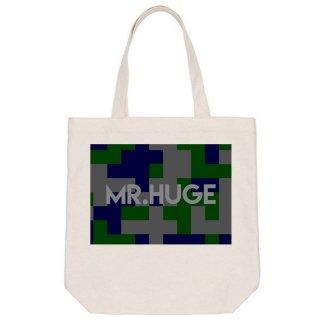 MR.HUGE  DIGITAL CAMOFLAGE PRINTED CANVAS TOTE BAG(デジタル 迷彩 プリント キャンバス トート バッグ)