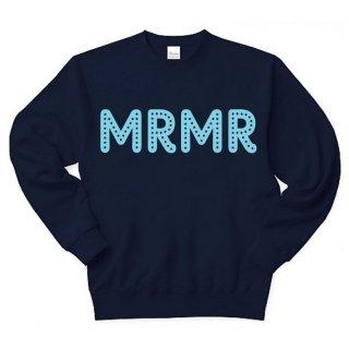 MR.HUGE POP STAR MRMR HOWLING SWEAT (ポップ スター MRMR ハウリング) スエット ネイビー
