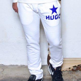 MR.HUGE STAR LOGO SWEAT LONG PANTS(スター ロゴ スエット ロングパンツ )ホワイト