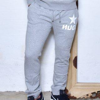 MR.HUGE STAR LOGO SWEAT LONG PANTS(スター ロゴ スエット ロングパンツ )グレー