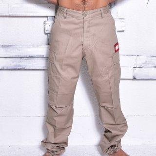 MR.HUGE 6POCKET CARGO LONG PANTS(6ポケット カーゴ ロングパンツ )ベージュ