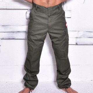 MR.HUGE 6POCKET CARGO LONG PANTS(6ポケット カーゴ ロングパンツ )カーキ