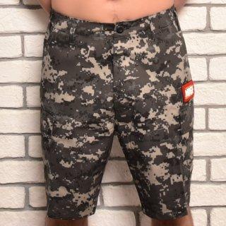 MR.HUGE 6POCKET CARGO SHORT PANTS(6ポケット カーゴ ショート パンツ )デジタルカモ グレー