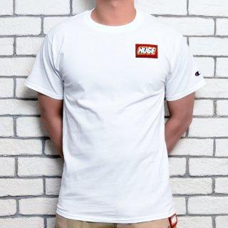 MR.HUGE champion HUGE WAPPEN Tシャツ ホワイト